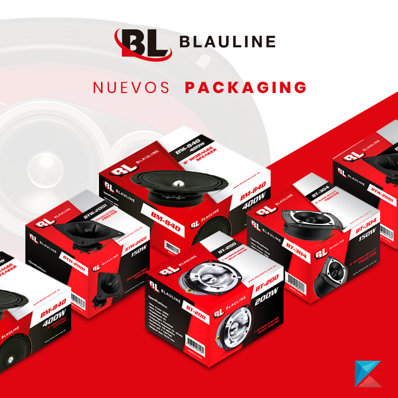 Nuevos packaging - Blauline