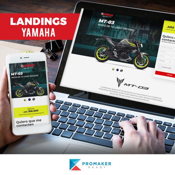 Nuevas landings - Yamaha